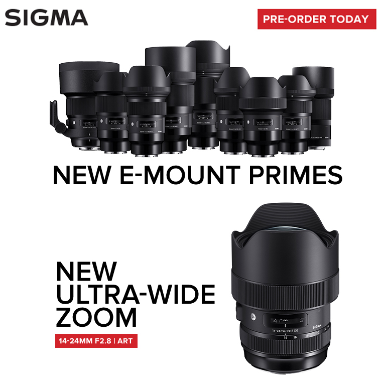 New Sigma Lenses